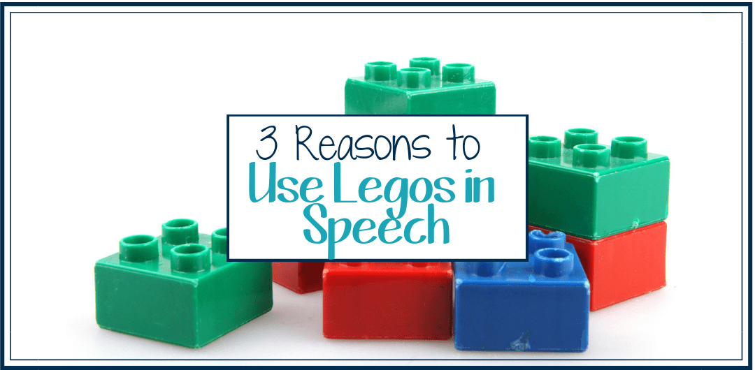 3 Ways To Use Legos in Speech Therapy